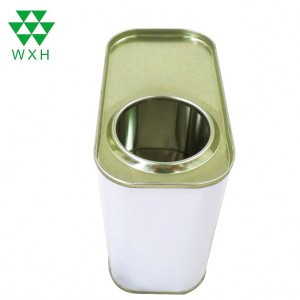 500ml Empty Metal Tin Cans for Engine oil packing