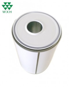 1L round tin cans Packaging