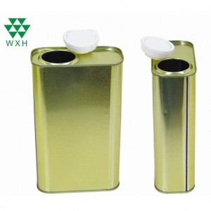 1L Tin Can for food Grade Edible Oil Tin packing