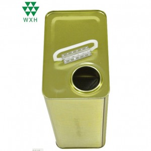 4L Tin Can for food Grade Edible Oil Tin packing