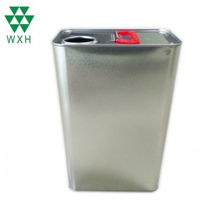 5L Tin Can for food Grade Edible Oil Tin packing