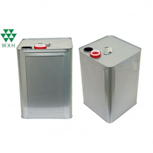 18L Tin Can for food Grade Edible Oil Tin packing