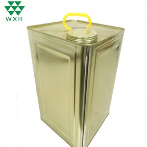 15L Tin Can for food Grade Edible Oil Tin packing