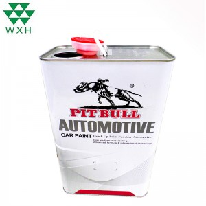 China Wholesale Metal Tea Can Supplier