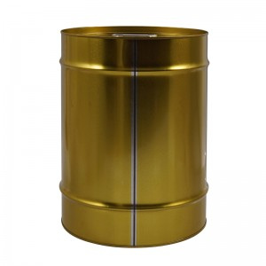 20L Metal Round Tin Can Kanggo Paint, Kimia Industrial Packaging