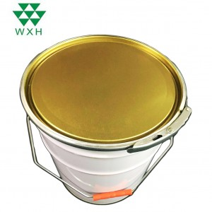 10L prsteň šťastie Tin Bucket Pre Paint, Chemical Industrial Packaging