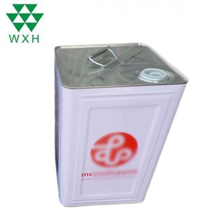 Factory selling Small Square Tin Box -