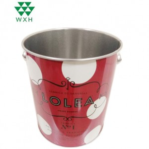 4L round tin cans foar ice Parts