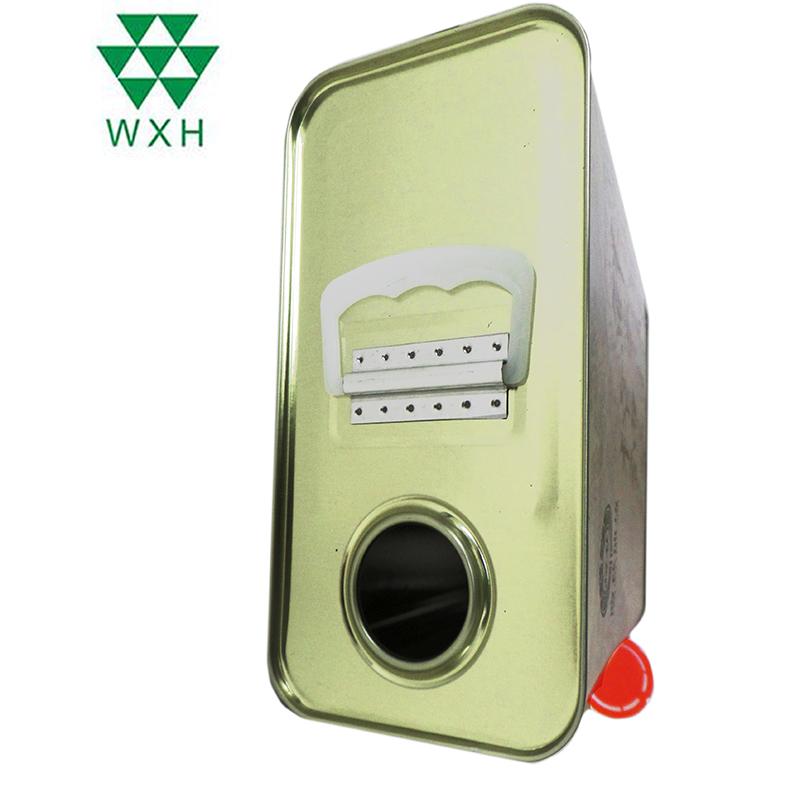 Кина 2.5L лимени конзерви за храна одделение масло за
