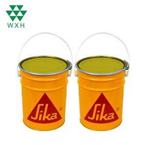 6.3L peratra vintana Tin Bucket Fa Paint, Chemical Industrial fonosana