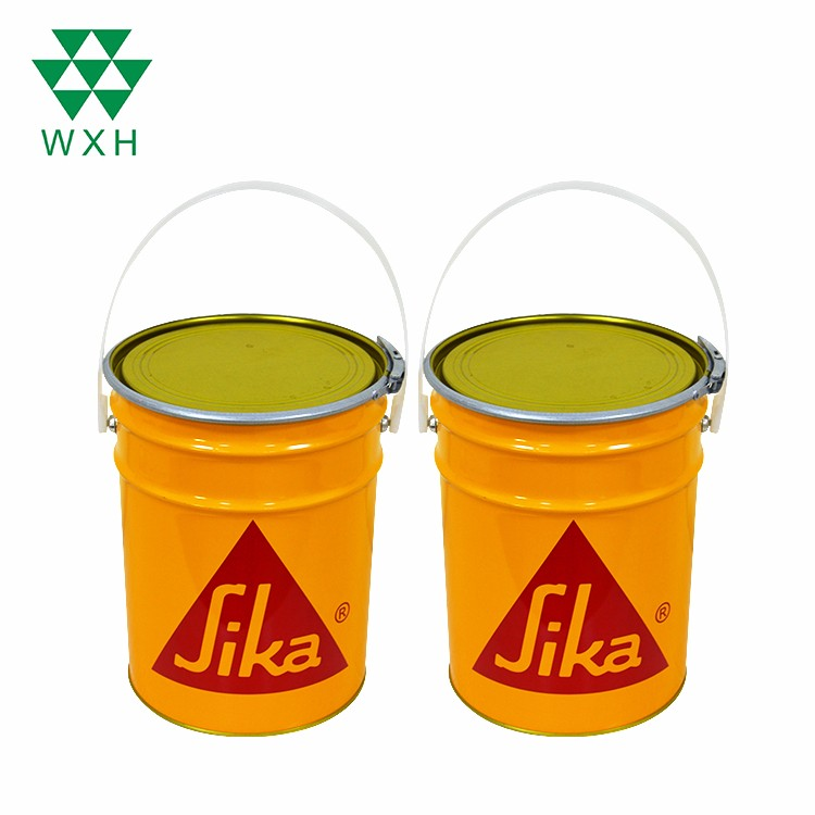 6.3L ring luck Tin Bucket For Paint,Chemical Industrial Packaging  Featured Image