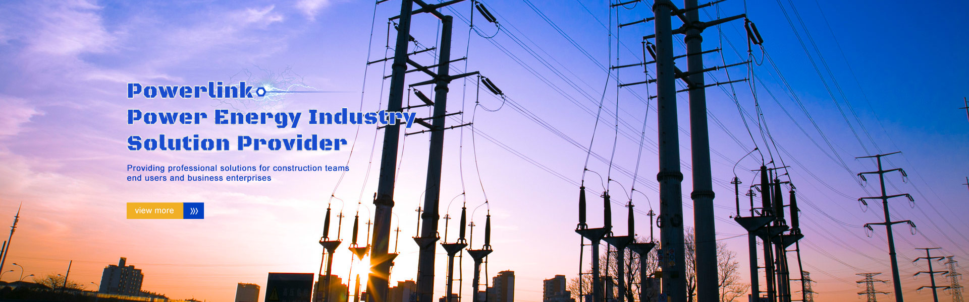 Powerlink Power Energy Industry  Solution Provider