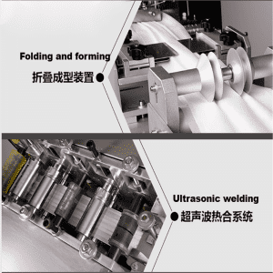 Mask Making Machine One Drive Two Flat Face Mask Making Machine Face Mask