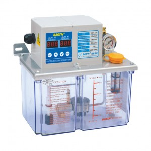 BTC-A2P4 Thin oil lubrication pump with digital display