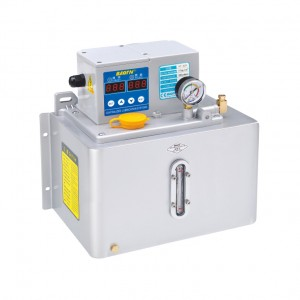 BT-A2P4(Metal plate) Thin oil lubrication pump with digital display