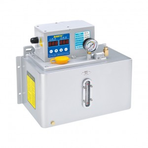 BT-A14(Metal plate) Thin oil lubrication pump with digital display