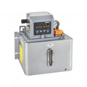 BTD-A2P4(Metal plate) Thin oil lubrication pump with digital display