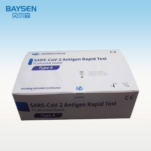 COVID-19 front nasal antigen home use test
