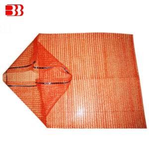 Hot-selling China 100% New PE Material Raschel Mesh Bag for Onions, Potatoes