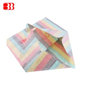Factory directly Mesh Bags With Laminated Logo Band - PP Striped  Woven Bag – Ben Ben