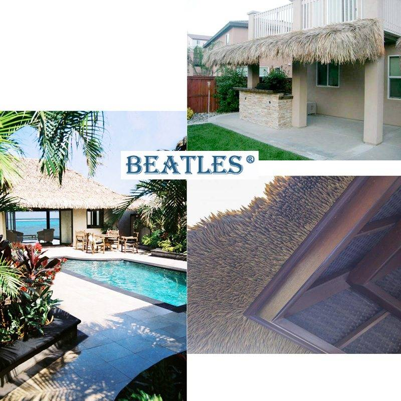 Artificial Tiles for thatched roof gazebo from China Supplier
