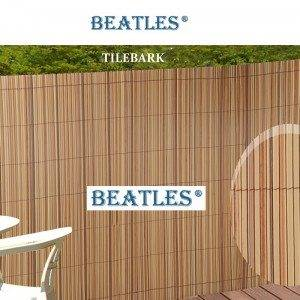 Top Suppliers Novel colors plastic fence battens boards for play area – Colourful Artificial Bamboo Poles