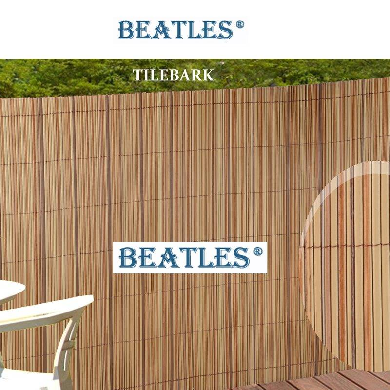 Novel colors plastic fence battens boards for play area