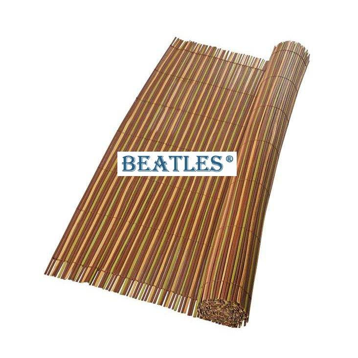 Factory directly provided Artificial plastic fake bamboo curtains – Bamboo Poles Construction detail pictures