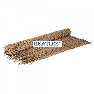 Factory selling Plastic synthetic reed fencing for garden screening – Natural Color Bamboo