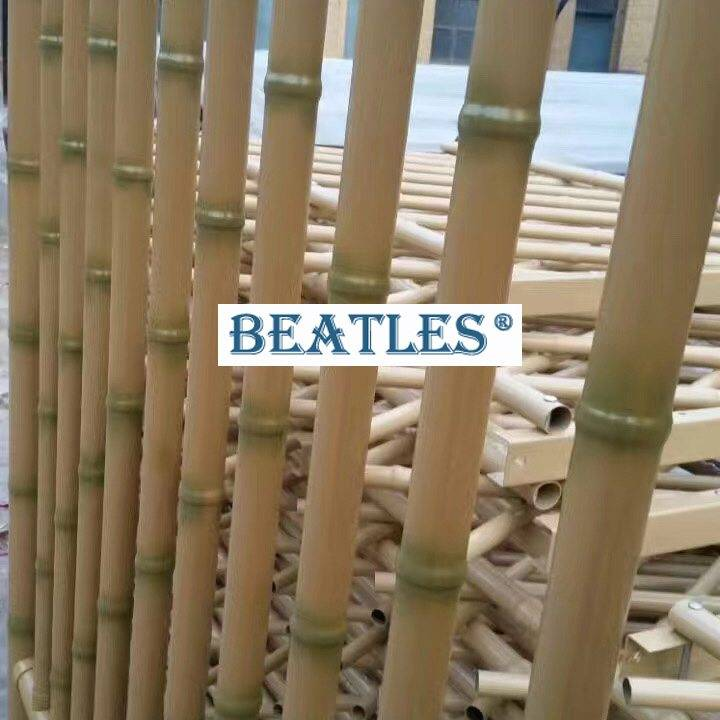 factory Outlets for Stainless steel bamboo sticks for resort hotel garden fence and screen – Plastic Bamboo