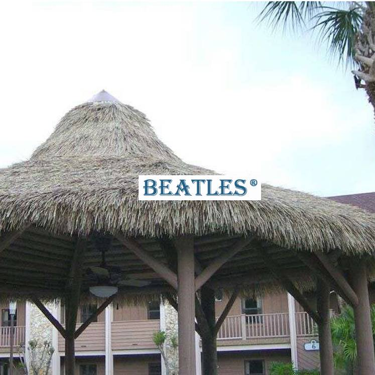 China wholesale Synthetic Thatch for Tiki Hut and Tiki Bar – Flexible Roofing Material