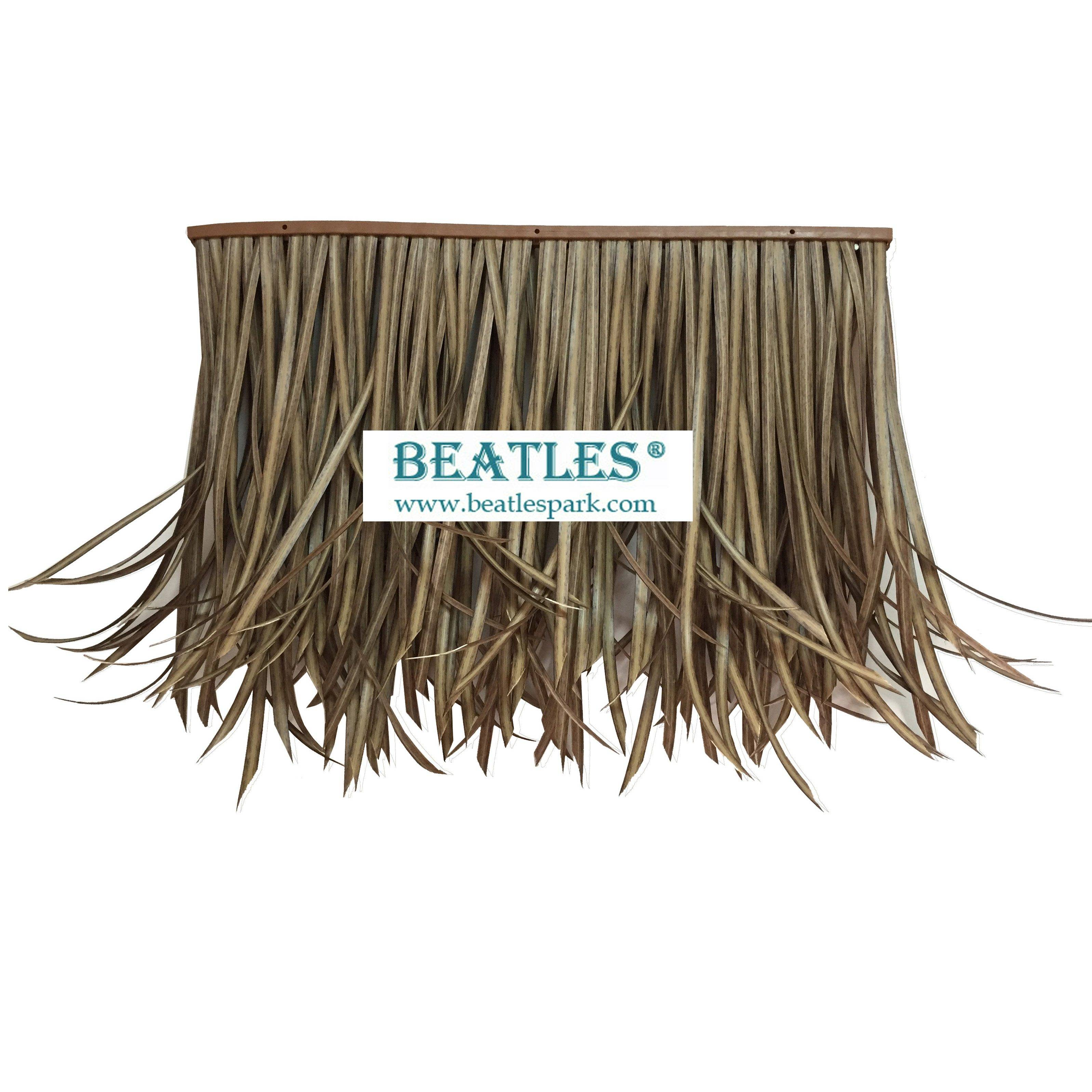 Synthetic Tiki Bar Roof Straw Grass Shingles Thatch for Sale in UK