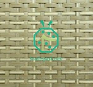 Synthetic woven ceiling mat for walls and ceiling decoration