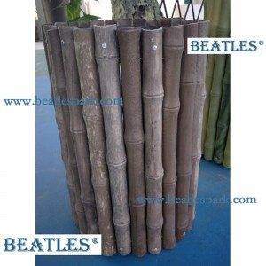 Artificial bamboo privacy fence roll for hedge covering