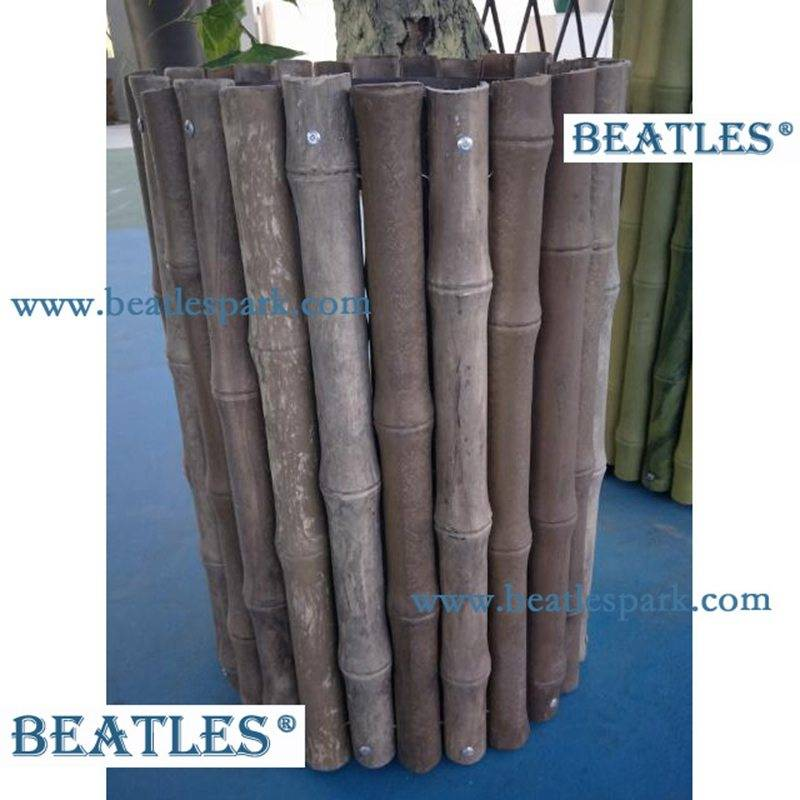 High Quality Plastic fence panels materials manufacturer china for play yard ornaments – Artificial Bamboo Poles China