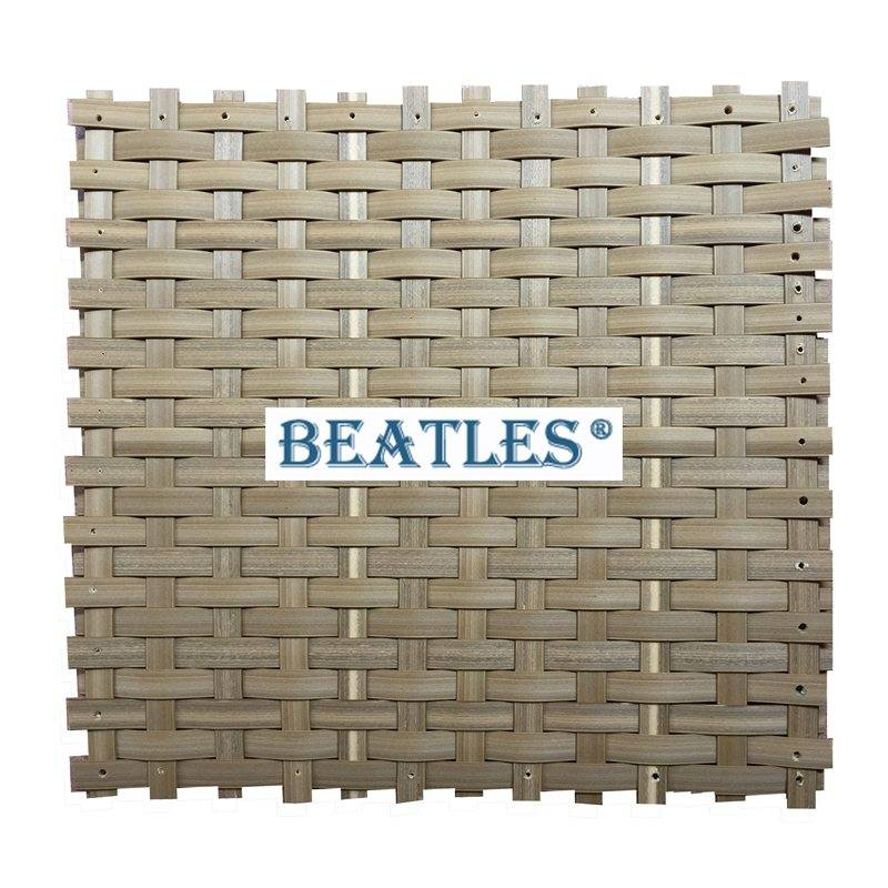Lightweight Synthetic Bamboo Woven Matting for Resort Hotel Decoration