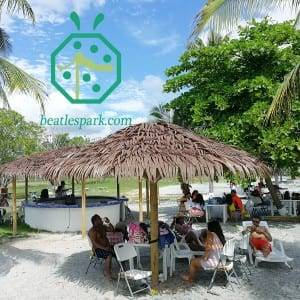 Synthetic Tiki Palm Thatch for Umbrella Cover