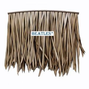 High Definition For Reliable UV Proof Thatched Roof Material Supplier for Vacational Village from China – Artificial Palm Leaves Roofing