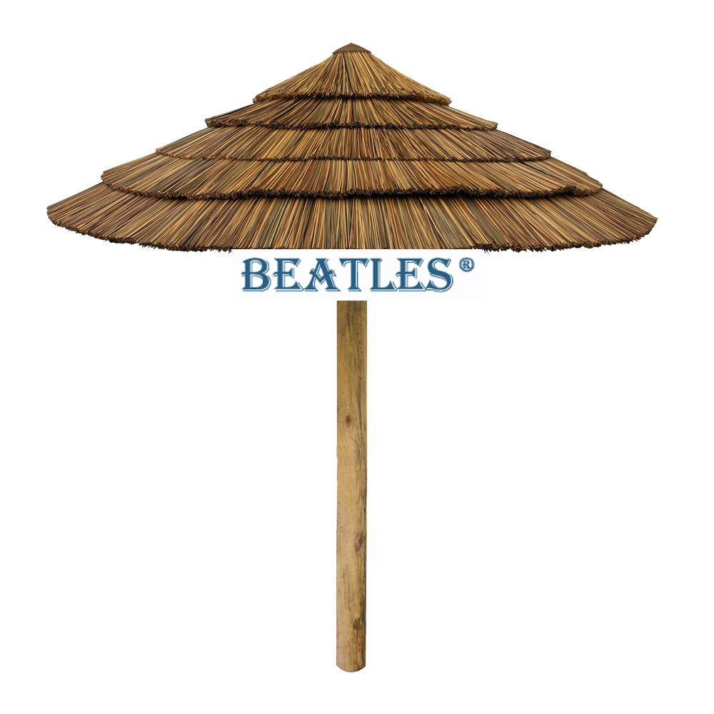 8 Year Exporter Artificial Thatch Umbrella for UK – Artificial Synthetic Thatch Bamboo Hut