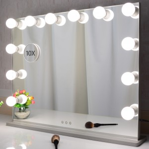 Hollywood le hotelitsoeng a lefeela Makeup Seipone le Lights Large apara Table-holimo Beauty Seipone