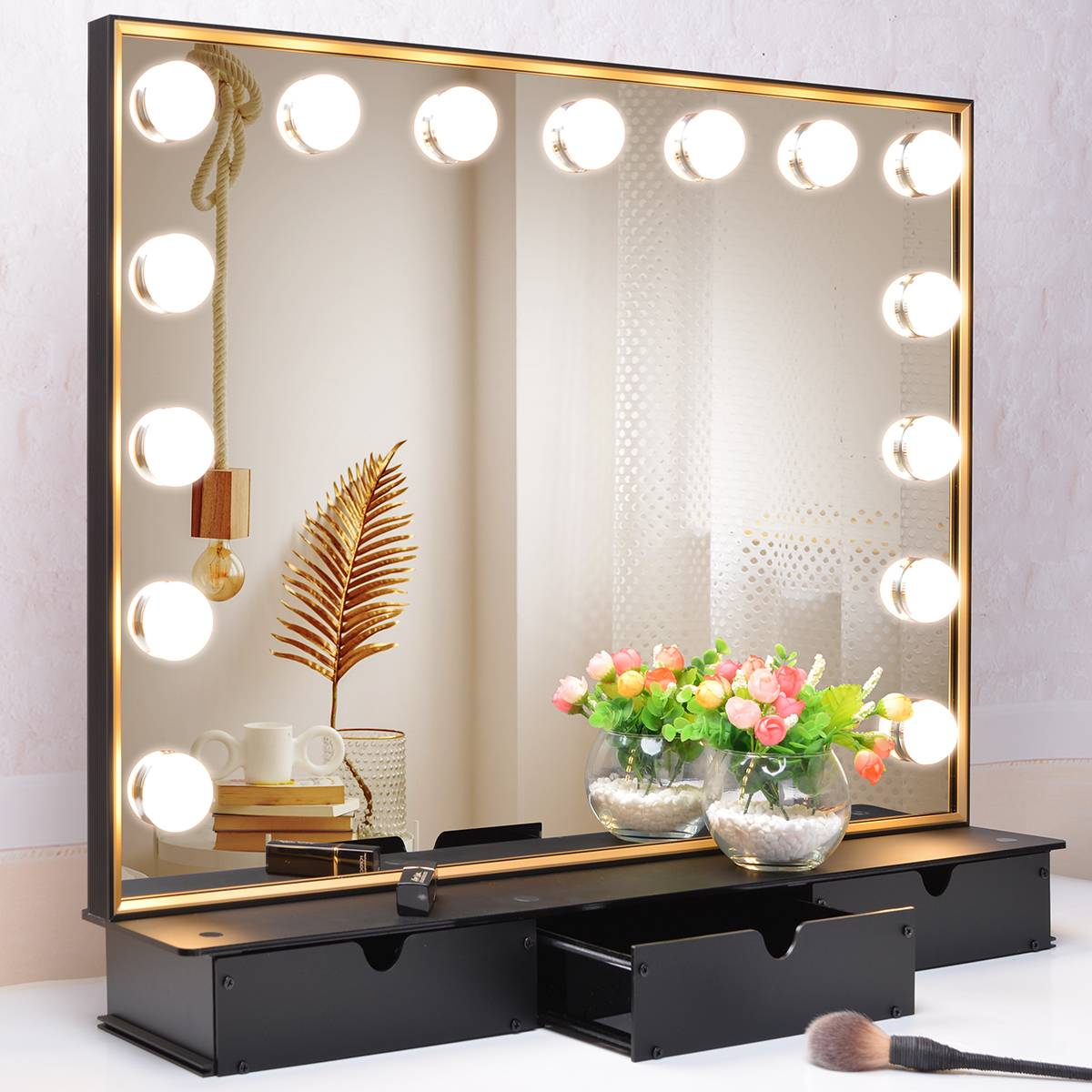 Dressing mirror with drawer is your best choice