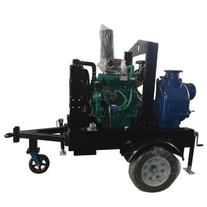 BT/H series Selfpriming Sewage and Trash Pumps