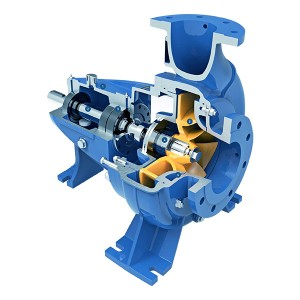 BCP seri End nyedhot Centrifugal Pumps