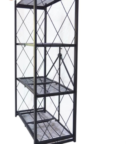 Hot Sell Book Household Display Rack Wire Folding Shelf