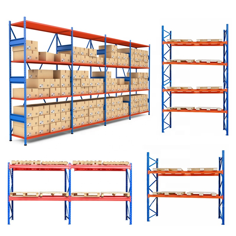 Warehouse slotted angle cantilever racking iron rack garage shelving