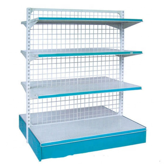 Professional design boltless shelf z beam rivet shelving