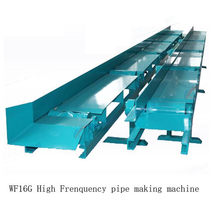 Direct factory High frequency straight seam tube mill pipe making machine