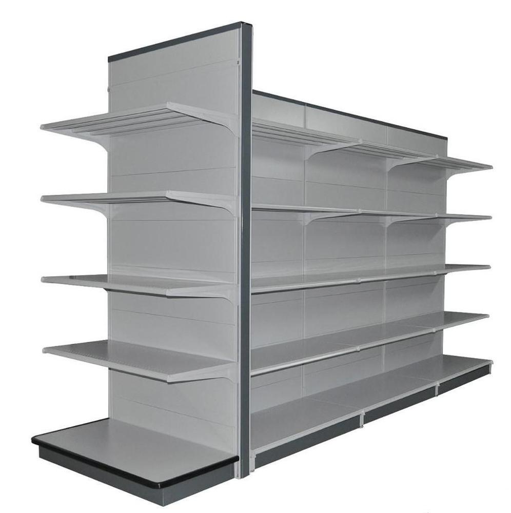 new design steel supermarket display shelves