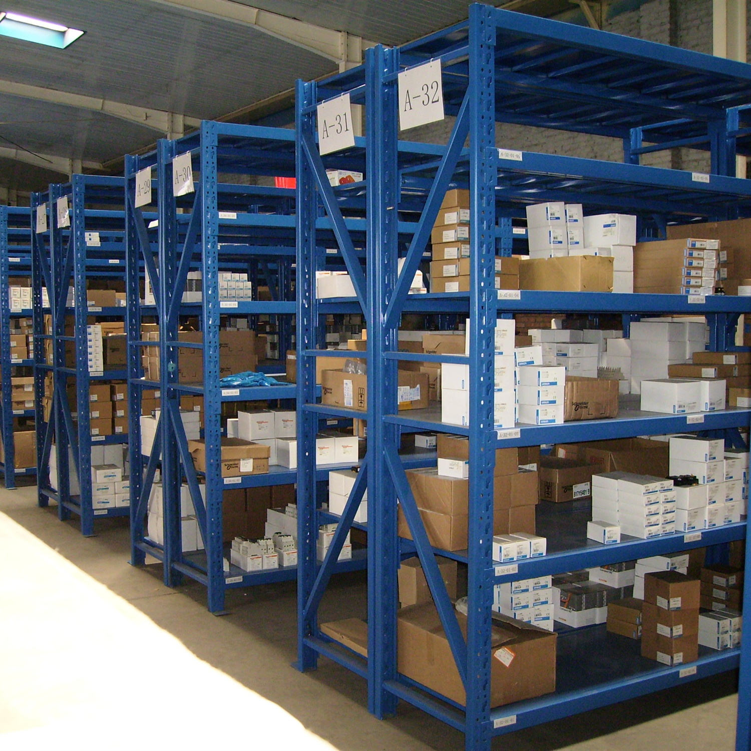 Warehouse corrosion protection storage shelving unitswarranty factory direct sale heavy duty rack