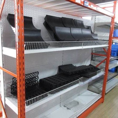 Professional Manufacturer Industrial Plate Metal Warehouse Shelf